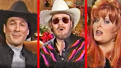 Country Music Legends Came Together For A Epic Performance Of 'Deck The Halls'