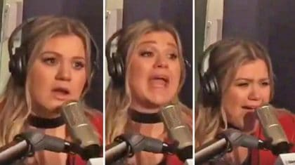 Watch Kelly Clarkson's Priceless Reaction To Finding Out About Grammy Nomination