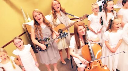 Three Sisters Join Children's Choir For Heavenly Rendition Of 'Angels Among Us'