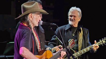 Willie Nelson Honors Good Friend Kris Kristofferson With Compelling Cover Of 'Me And Bobby McGee'