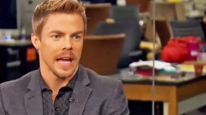 Derek Hough Confesses His Most Embarrassing Moment