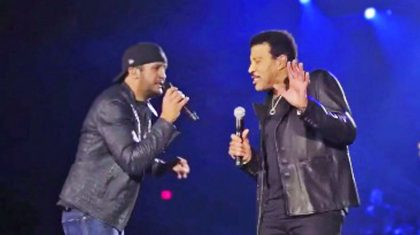 Lionel Richie Crashes Luke Bryan's Concert With Show-Stopping Duet