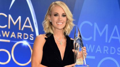 Carrie Underwood Leads Nominations For Huge Awards Show