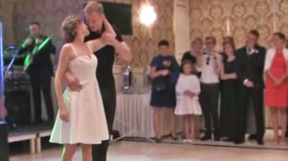 Bride & Groom Channel 'Dirty Dancing' For The Most Extraordinary Wedding Dance You'll Ever See