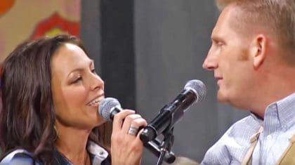 Joey + Rory Radiate Happiness While Singing Beloved Hymn 'Leave It There'