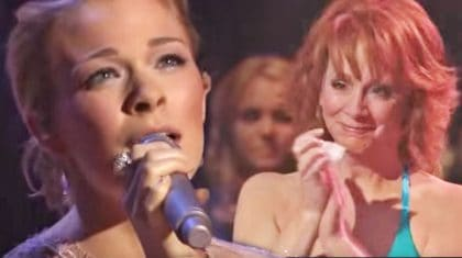 LeAnn Rimes Moves Reba McEntire To Tears With 'The Greatest Man I Never Knew'