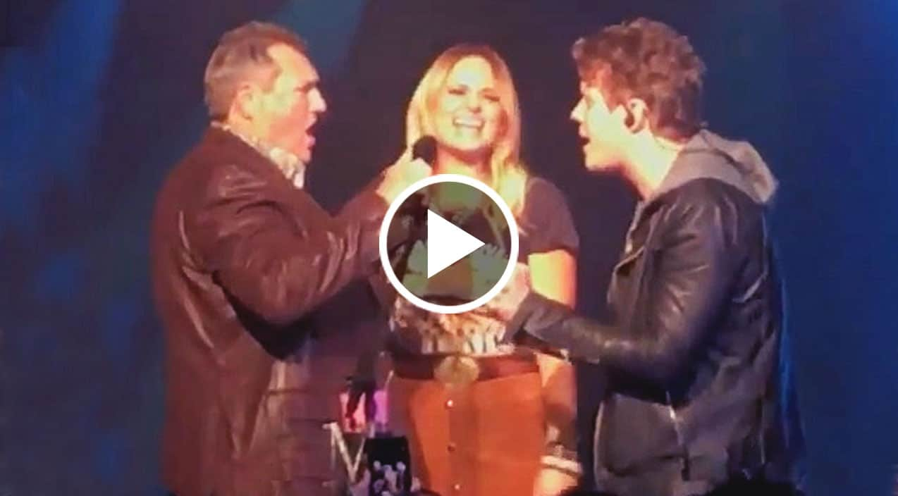 Miranda lambert s dad boyfriend join her on stage for for Miranda lambert tin man performance