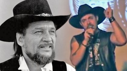 Waylon Jennings' Grandson Performs Moving Tribute To His Grandfather