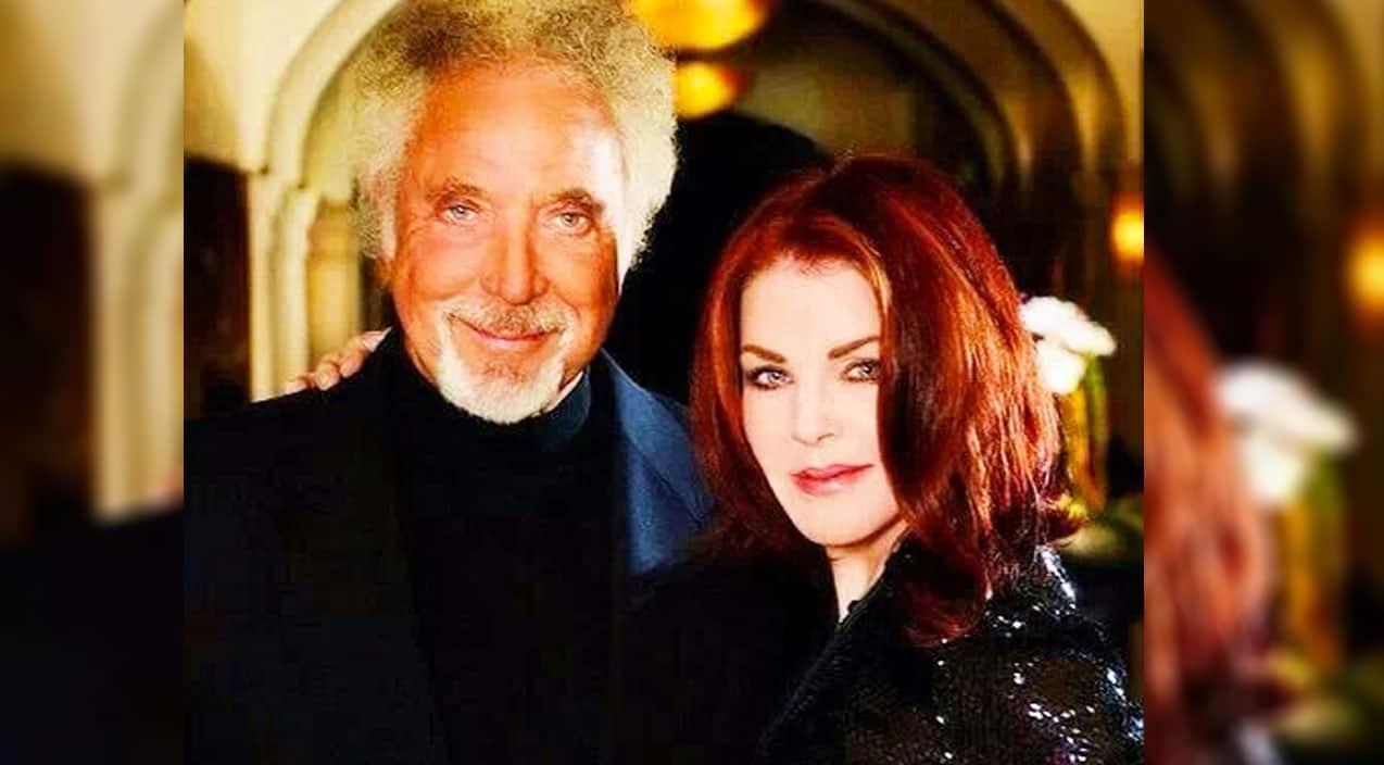 Rep Breaks Silence On Rumors Priscilla Presley Is Dating Tom Jones