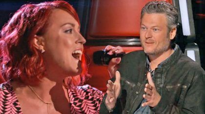'Voice' Contestant Earns 4-Chair Turn For Mind-Blowing Rendition Of LeAnn Rimes' 'Blue'