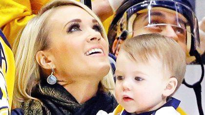 Carrie Underwood & Son Isaiah Singing 'Jesus Loves Me' Is Too Cute To Handle