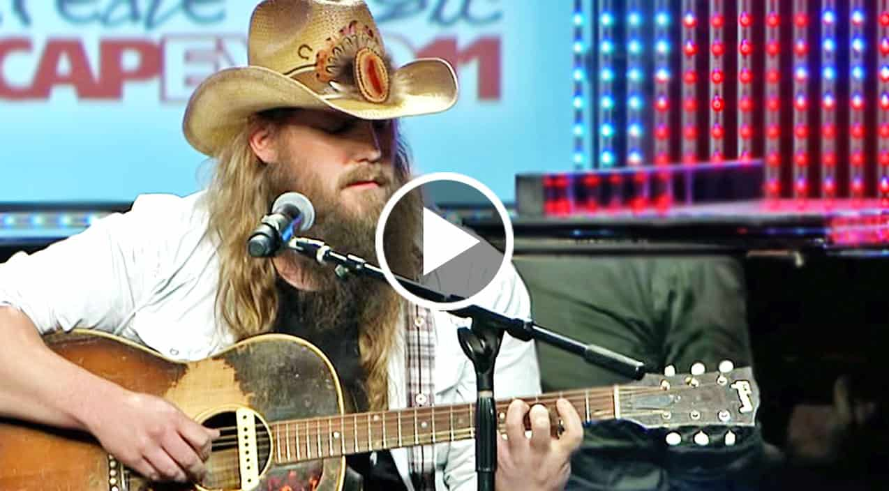 Chris stapleton goes acoustic for heart shattering for What songs has chris stapleton written