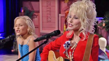 Duet Between Dolly Parton And Young Actress Who Played Her In Movies Will Move You To Tears
