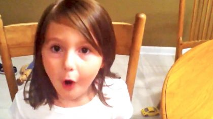 Spunky Little Girl Belts Out Kid Rock's 'Picture,' And It's Adorable