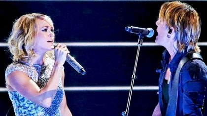 Carrie Underwood & Keith Urban Ignite Grammys Stage With Fiery Duet