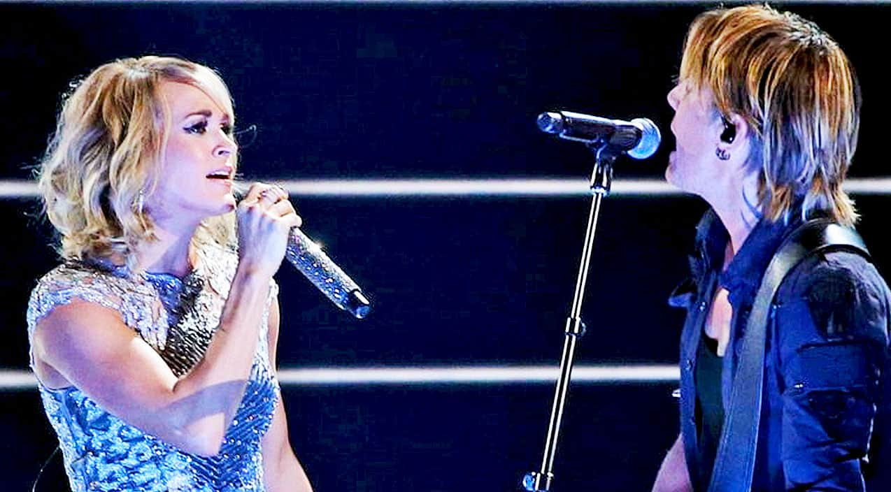 Carrie Underwood & Keith Urban Ignite Grammys Stage With ...