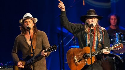 Willie Nelson's Son Lukas Gives Identical Performance Of Father's Ballad 'Always On My Mind'