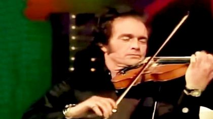 Merle Haggard Plays A Mean Fiddle In Medley With Western Swing Icons