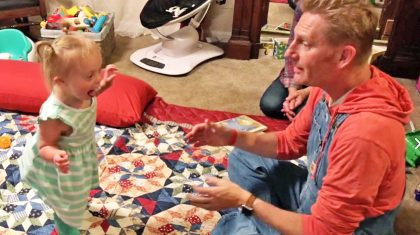 Rory Feek Shares Emotional Video Of Indy Learning How To Walk