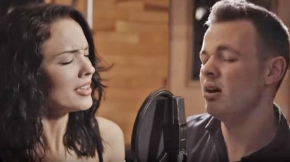 Beautiful Young Couple Deliver Phenomenal 'Tennessee Whiskey' Duet