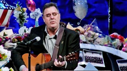 Vince Gill Fights Tears Singing 'Go Rest High' At Fallen Officer's Funeral