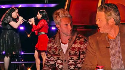 Two Country Singers Leave Coaches Stunned With Heartbreaking Ballad