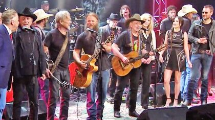 Country All-Stars Join Forces For Epic Tribute To Waylon Jennings
