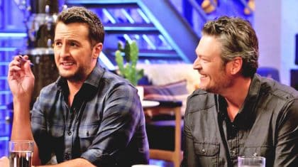 Blake Shelton Teases Luke Bryan About Horrible Math Skills In 'Voice' Bloopers