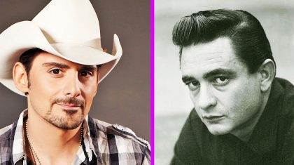 You'll Never Guess What Role Johnny Cash Has On Brad Paisley's New Album