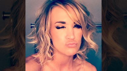 Carrie Underwood Shares Sneak Peek Of Sexy New Hair Do