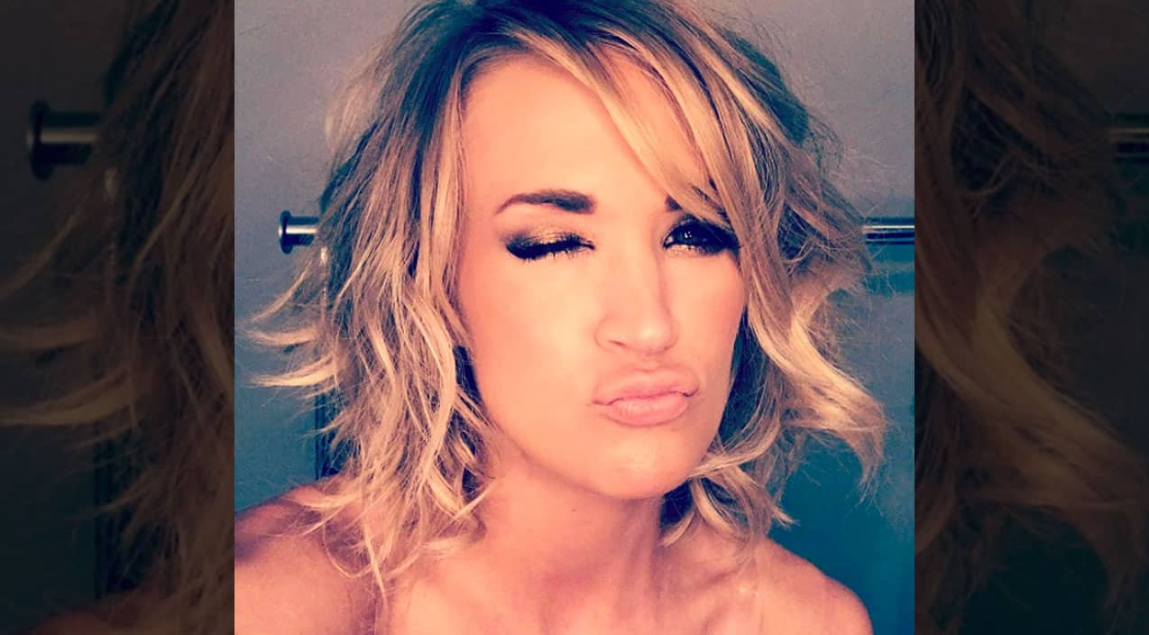 Carrie Underwood Shares Sneak K Of Y New Hair Do