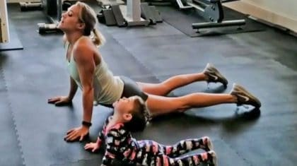 Carrie Underwood's Son Copies Her Every Move In Super Cute Workout Video