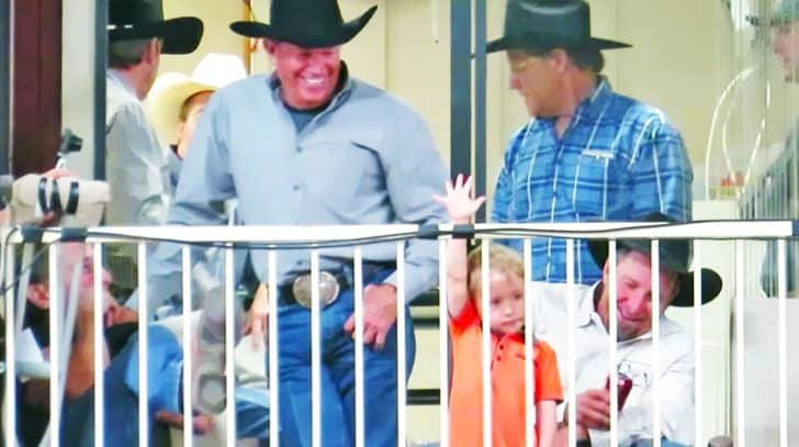 This Video Of George Strait & His Grandson Will Have You Smiling From Ear To Ear | Country Music Nation