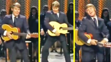 Watch Glen Campbell Shake His Hips Just Like Elvis In This Funny Performance