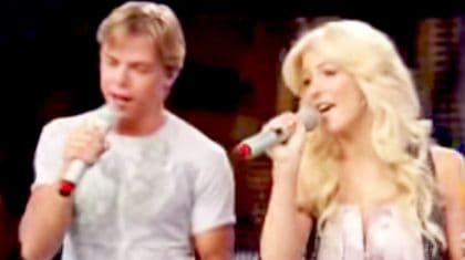 Julianne Hough Sweetly Sings Country Duet…But Just Wait Until Derek Shows Up