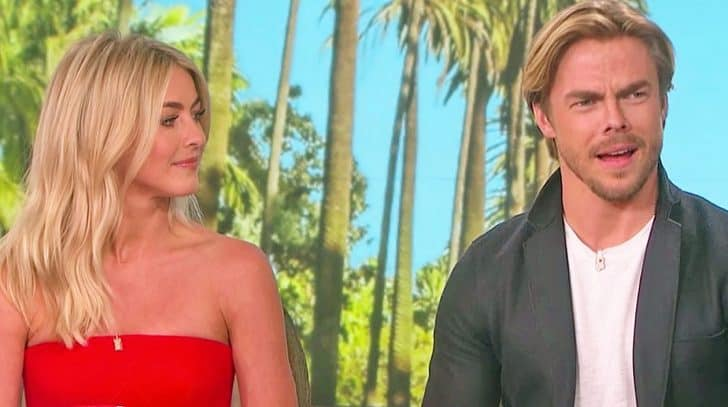 Derek Hough Shares What He Really Thinks About Sister Julianne's Fiancé | Country Music Nation