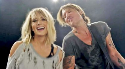 Keith Urban Addresses Backlash Over Carrie Underwood Duet