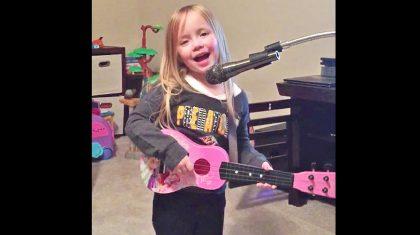 Country Cutie Adorably Sings Miranda Lambert Song