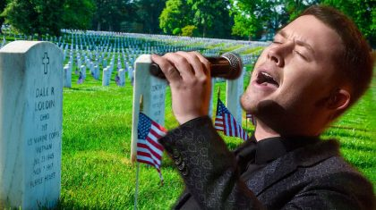 Scotty McCreery Dedicates Moving Tribute Song To Our Nation's Fallen Heroes