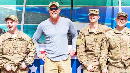 Trace Adkins Takes A Stand For The U.S.A. In Patriotic Song 'Still A Soldier'