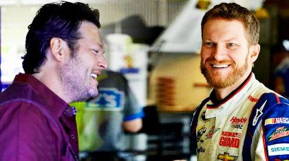 How Blake & Gwen's Surprise Made Dale Jr.'s Day