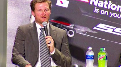 Emotional Dale Jr. Gets Choked Up Explaining Why He's Quitting