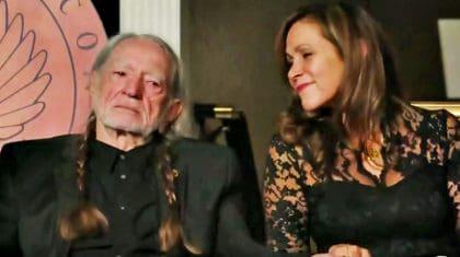 """Seven Spanish Angels"" Tribute Leaves Willie Nelson Fighting Back Tears"