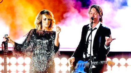 Keith Urban & Carrie Underwood Conquer The ACMs With Show-Stopping Duet On 'The Fighter'