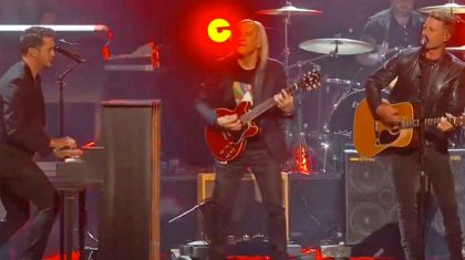ACM Awards Kicks Off With Rockin' Tribute To A Rock Icon