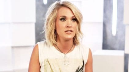 Technology Fail Leaves Carrie Underwood At Wit's End