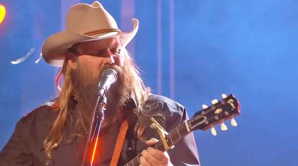 Drop Everything & Watch Chris Stapleton Sing His Brand New Song At The ACMs