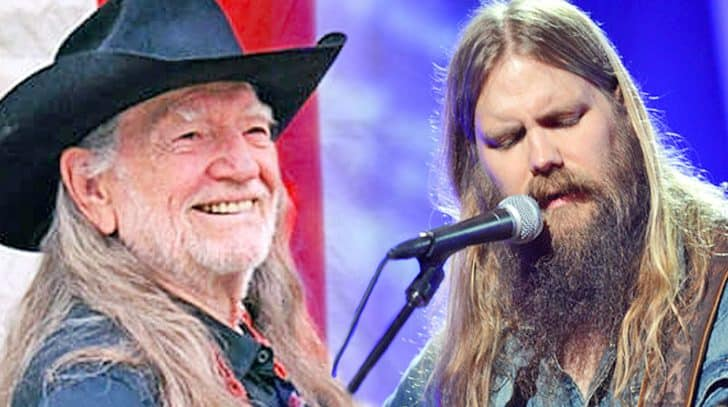 Chris Stapleton Debuts Heartbreaking Cover Of Willie Nelson Hit | Country Music Nation