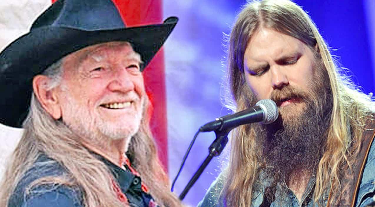 Chris Stapleton Debuts Heartbreaking Cover Of Willie