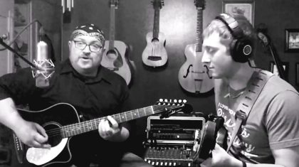 One Friend On Bass, The Other On Guitar. The Result? A Pretty Cool 'Curtis Loew' Cover